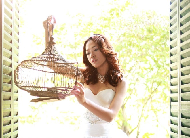 Bride and Bird